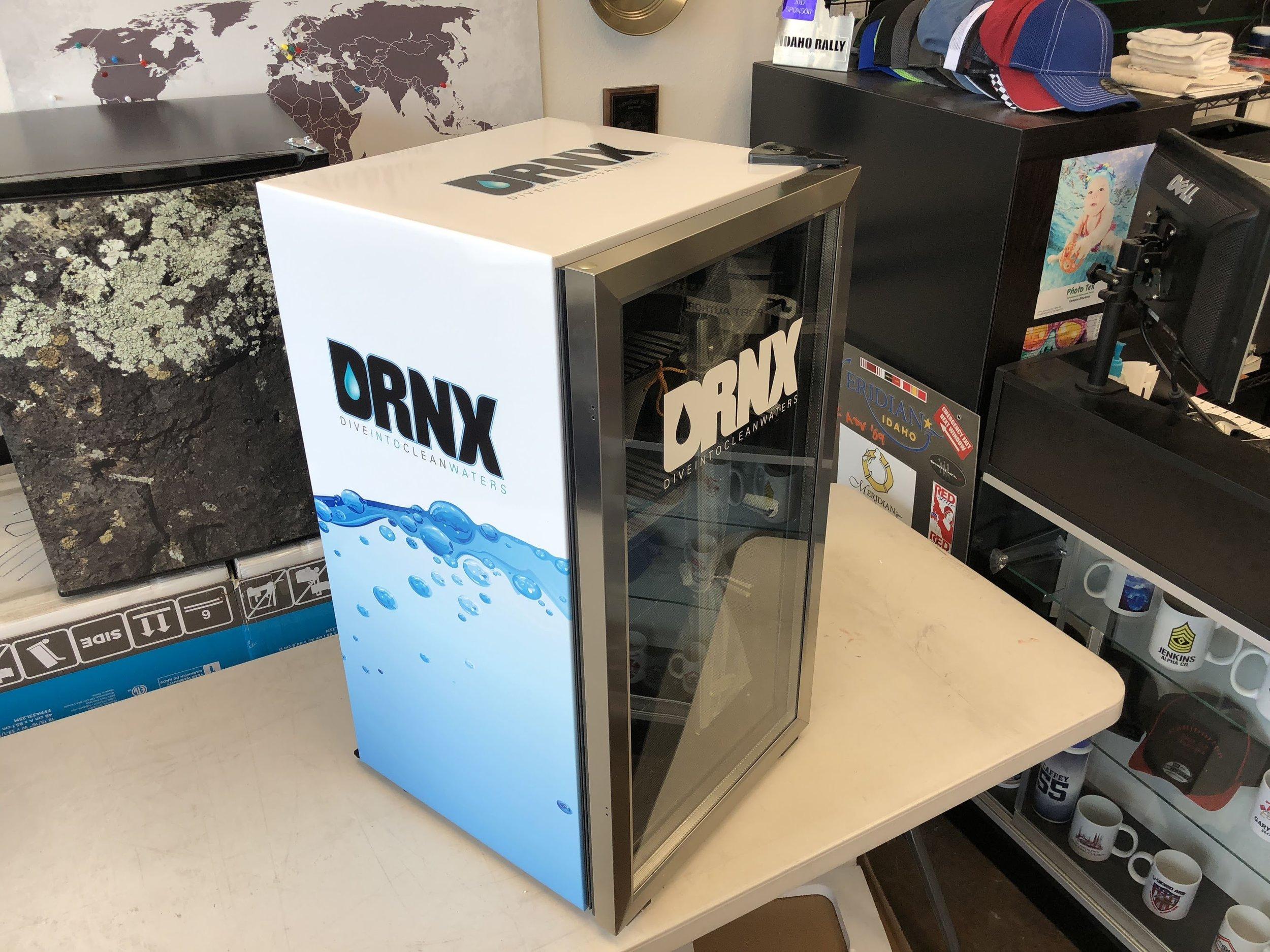 Drnk Mini fridge wrap