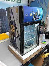 Formula 168 Mini fridge wrap