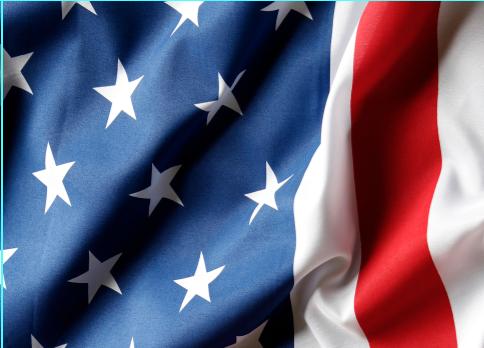Top freezer print. USA Flag, print, Rm wraps, Fridge wraps, refrigerator wraps, 10 cu. ft. fridge, US stars