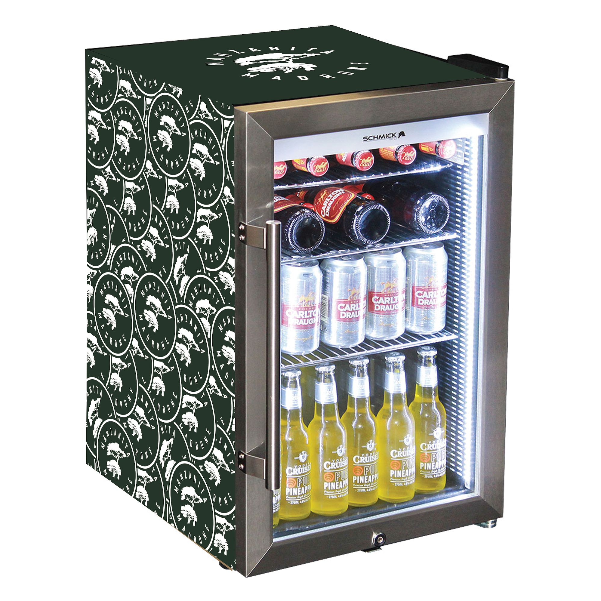 Manzanita and Madrone Mini Fridge wraps