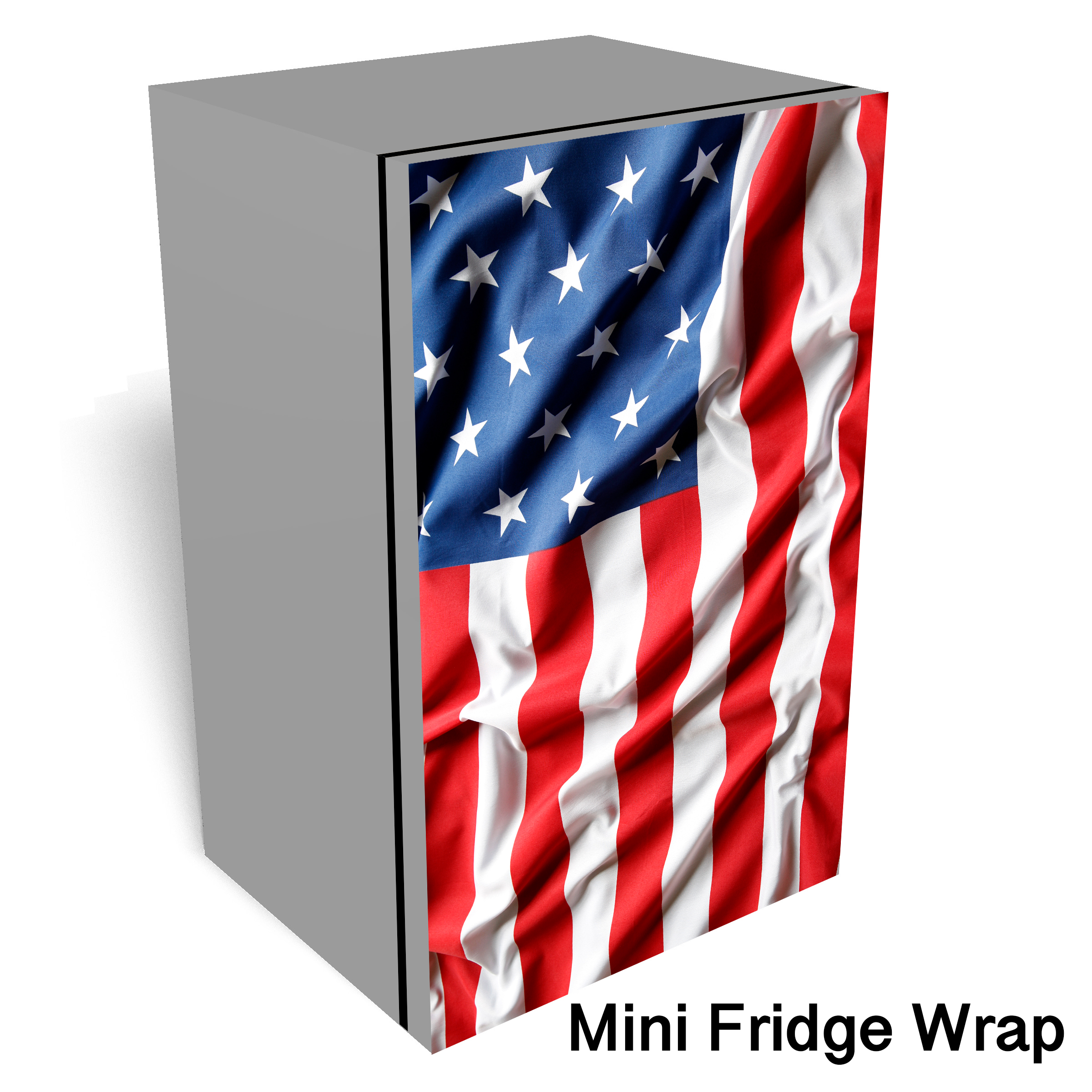 Coca Cola Rustic Vending Machine Mini Fridge Wrap
