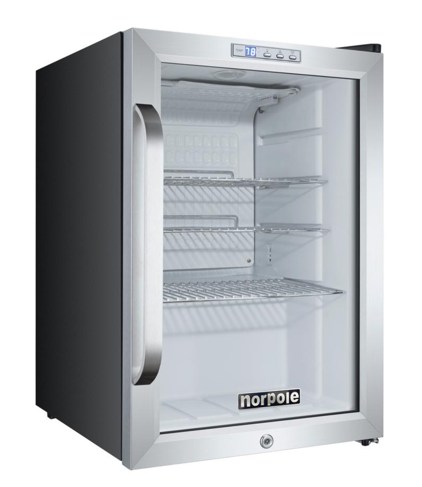 Norpole Mini fridge, Rm wraps