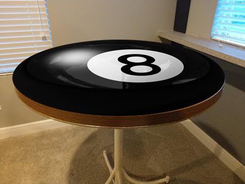 Billiard, Black, Eight Ball, Table Wrap, Rm Wraps
