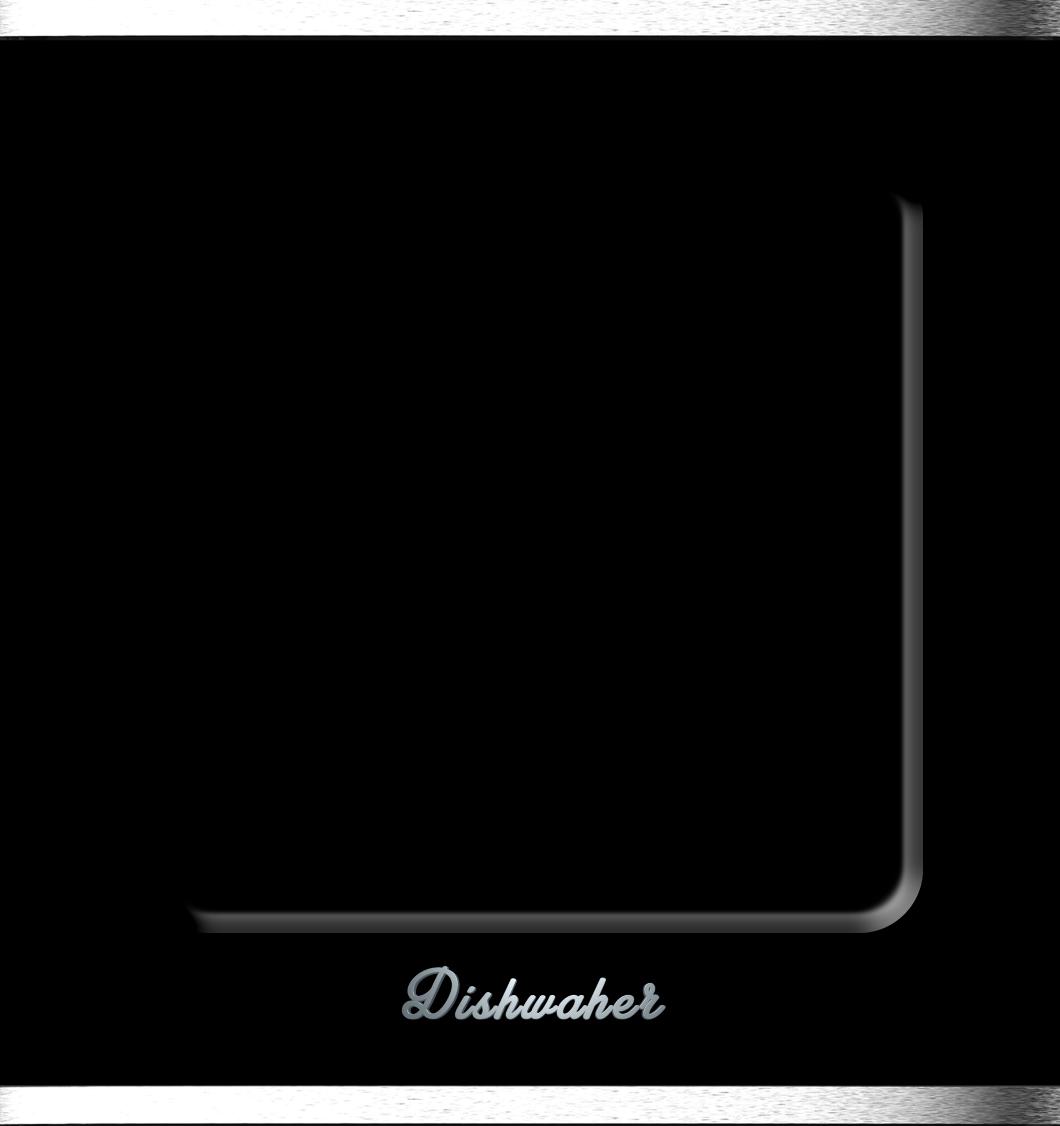 Dishwasher, Retro, Black, Wrap, Rm wraps