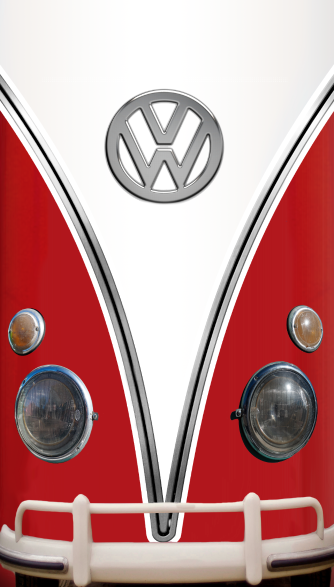Vw Bus, 10 cu. ft. Fridge, Design Skin, fridge wrap, rm wraps, vw red bus