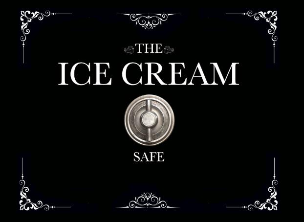 ice cream safe, mini fridge, wrap, Rm wraps
