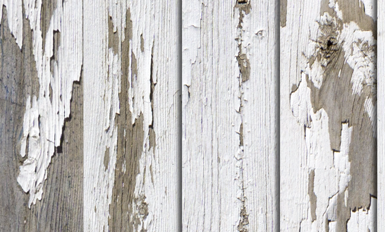 Weathered, White wood, Barn Door, Wrap, Rm wraps, Old paint, paint cracking,