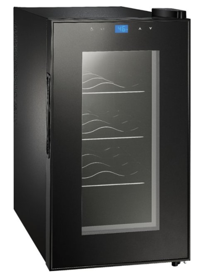 Insignia™ - 8-Bottle Wine Cooler, Template,  AI, Best buy mini fridge