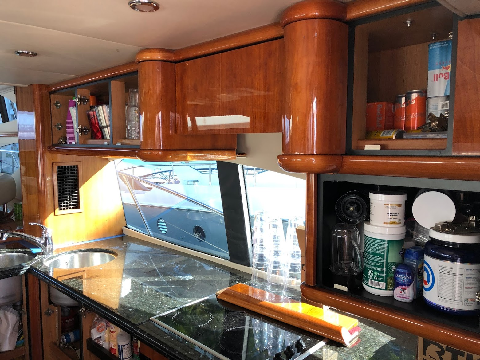 Yacht Galley Cabinet