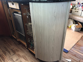 Yacht Galley Cabinet Wrap
