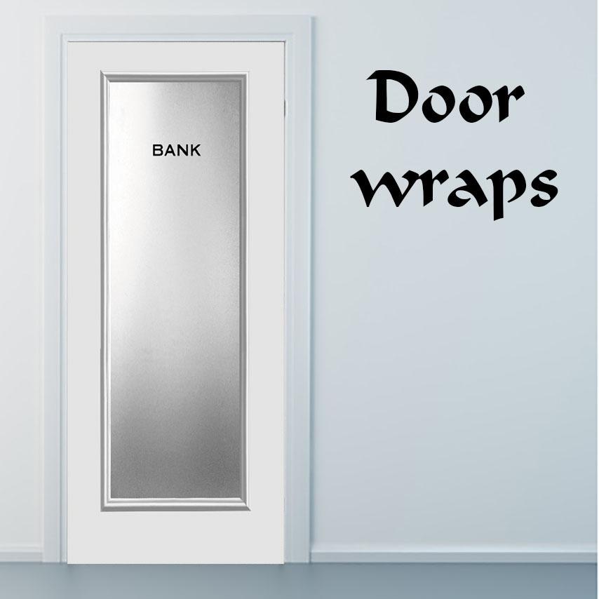Bank door, Door wrap, rm wraps, Door sticker, Door mural, Phone booth