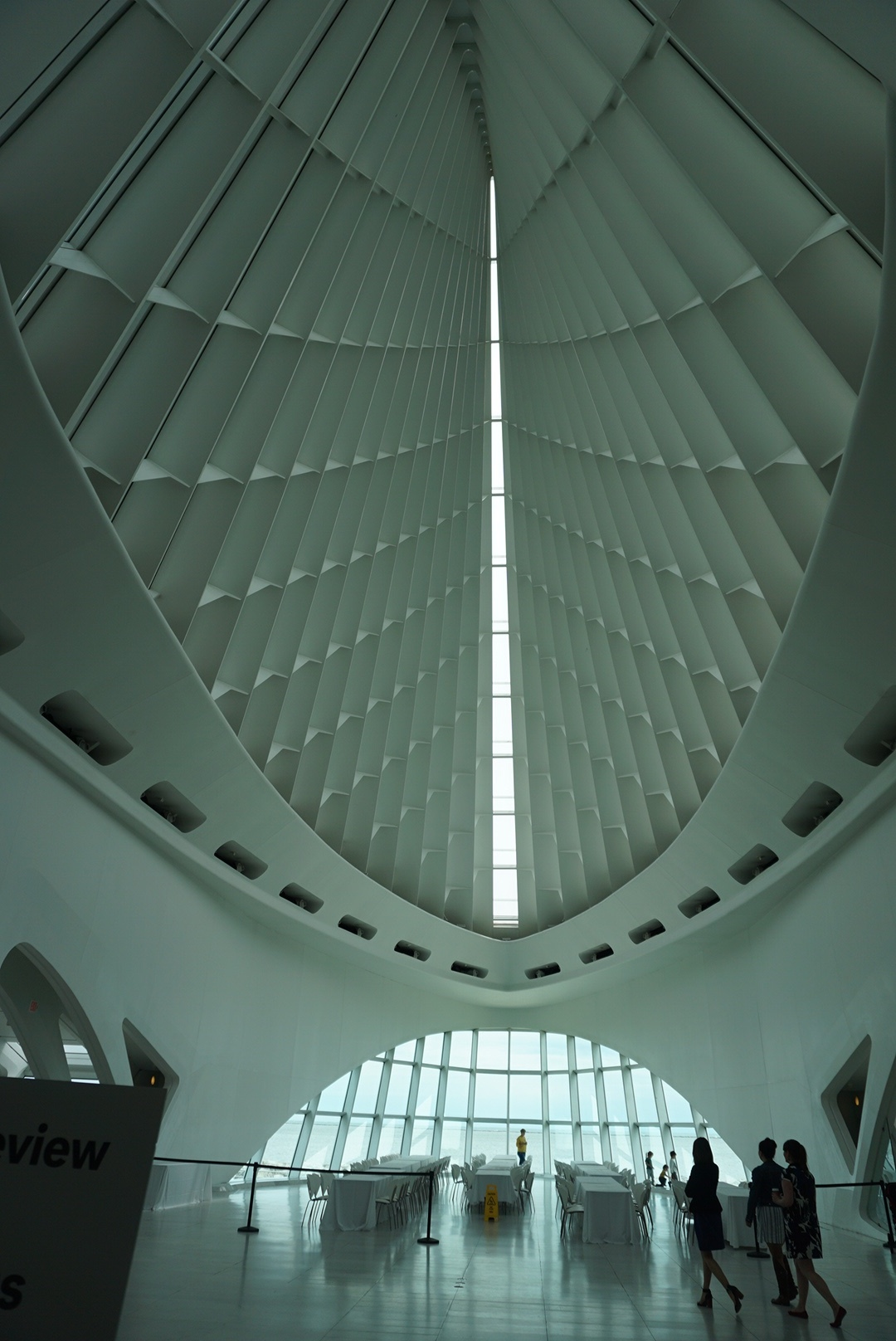 Inside Milwaukee Art Museum