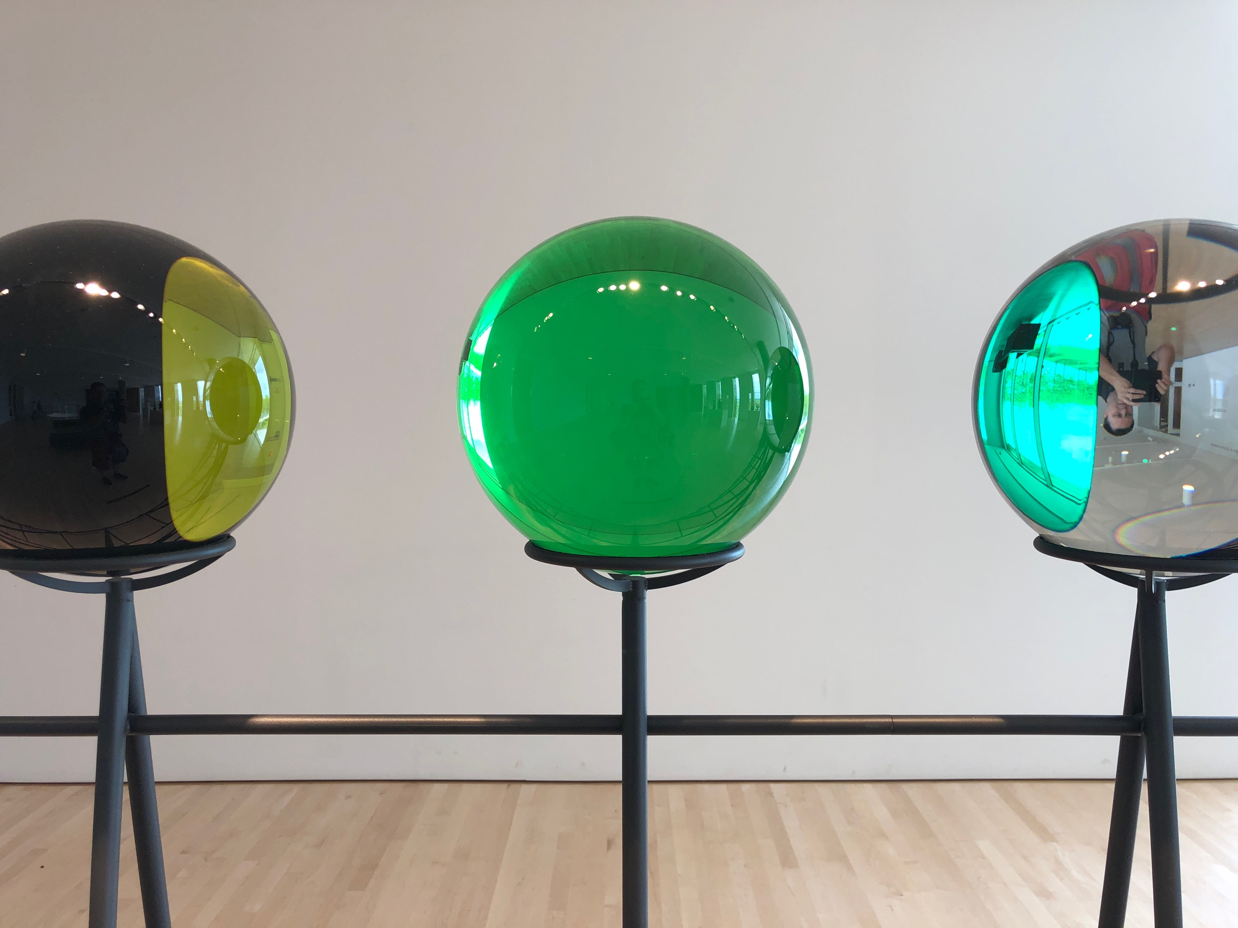 Color changing Glass Balls