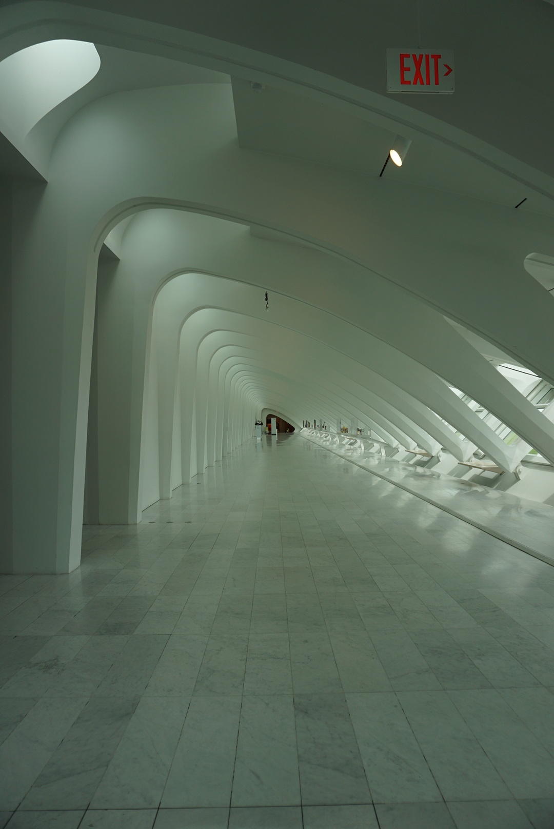 Milwaukee Art Museum hallway