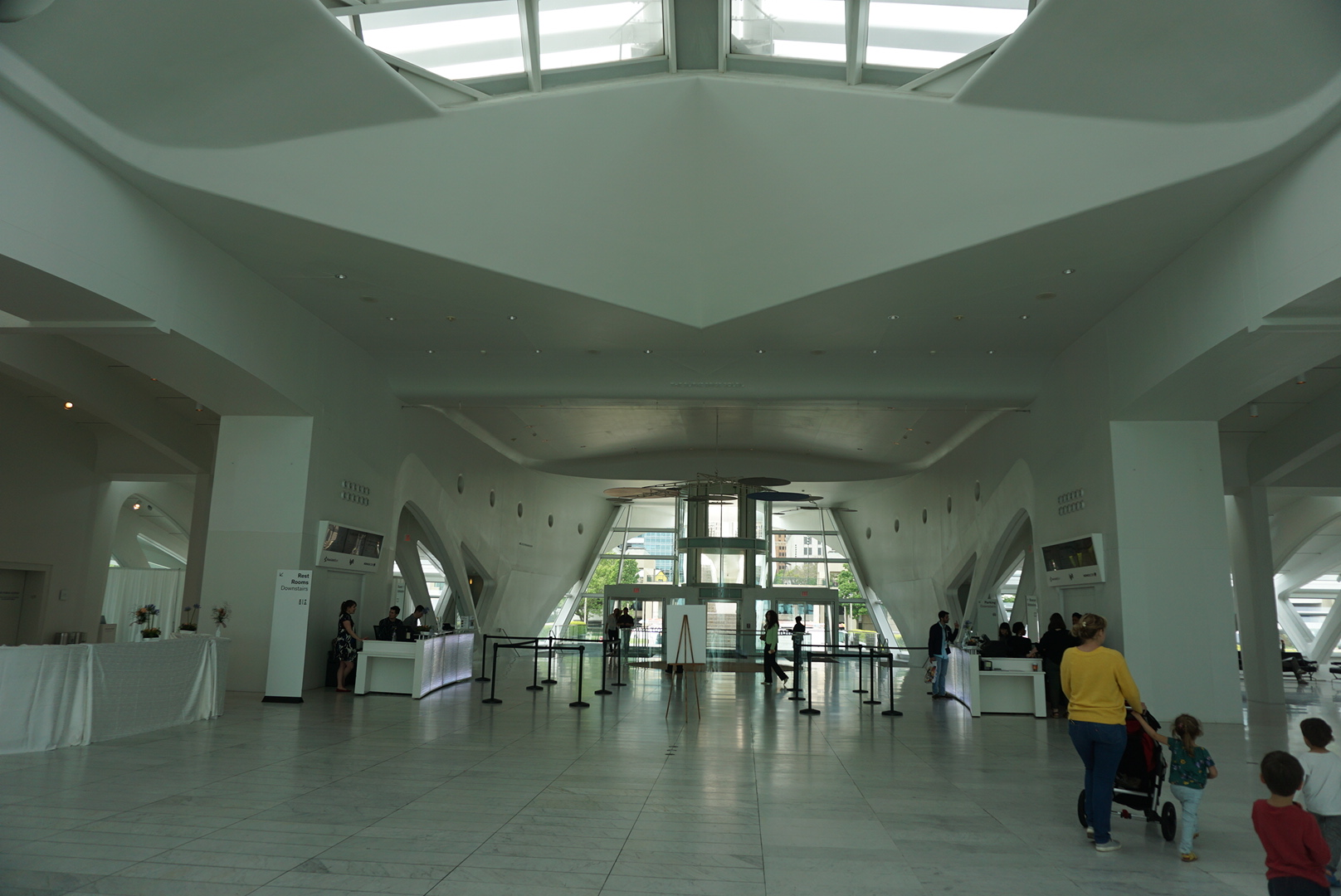Milwaukee Art Museum entry