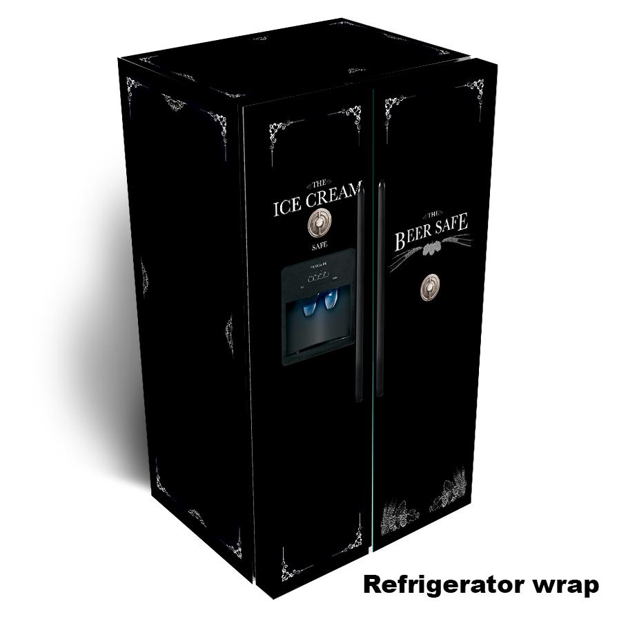 Mil City Side by Side Refrigerator Skin