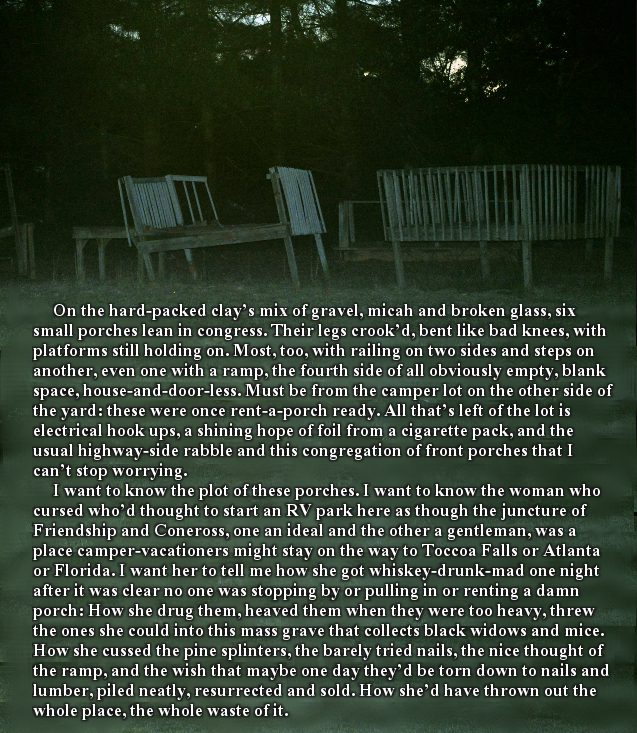 """Plot of Porches"" in  Postcard Poetry and Prose"