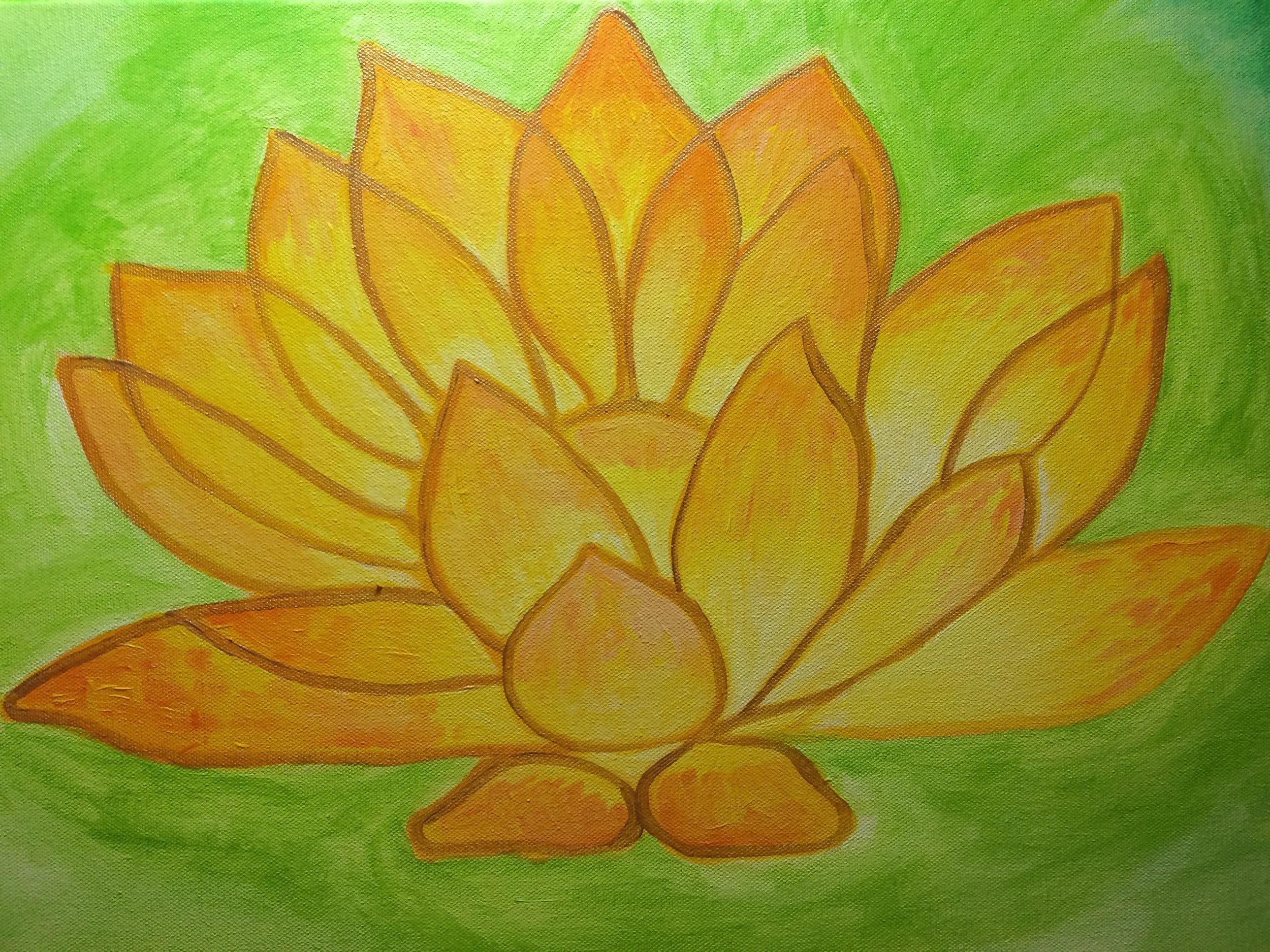 Manipura Chakra Yellow Lotus
