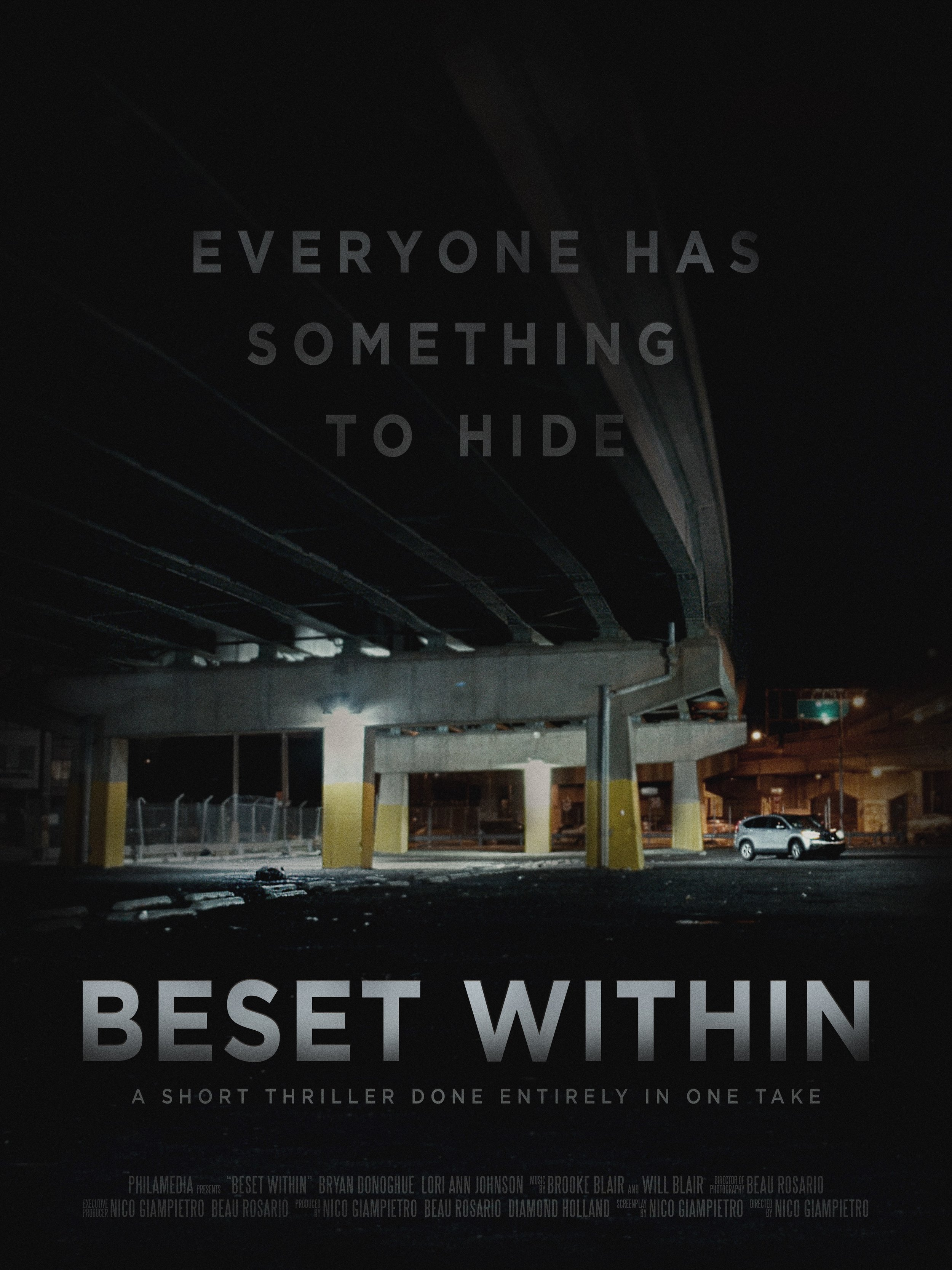 Beset within Poster