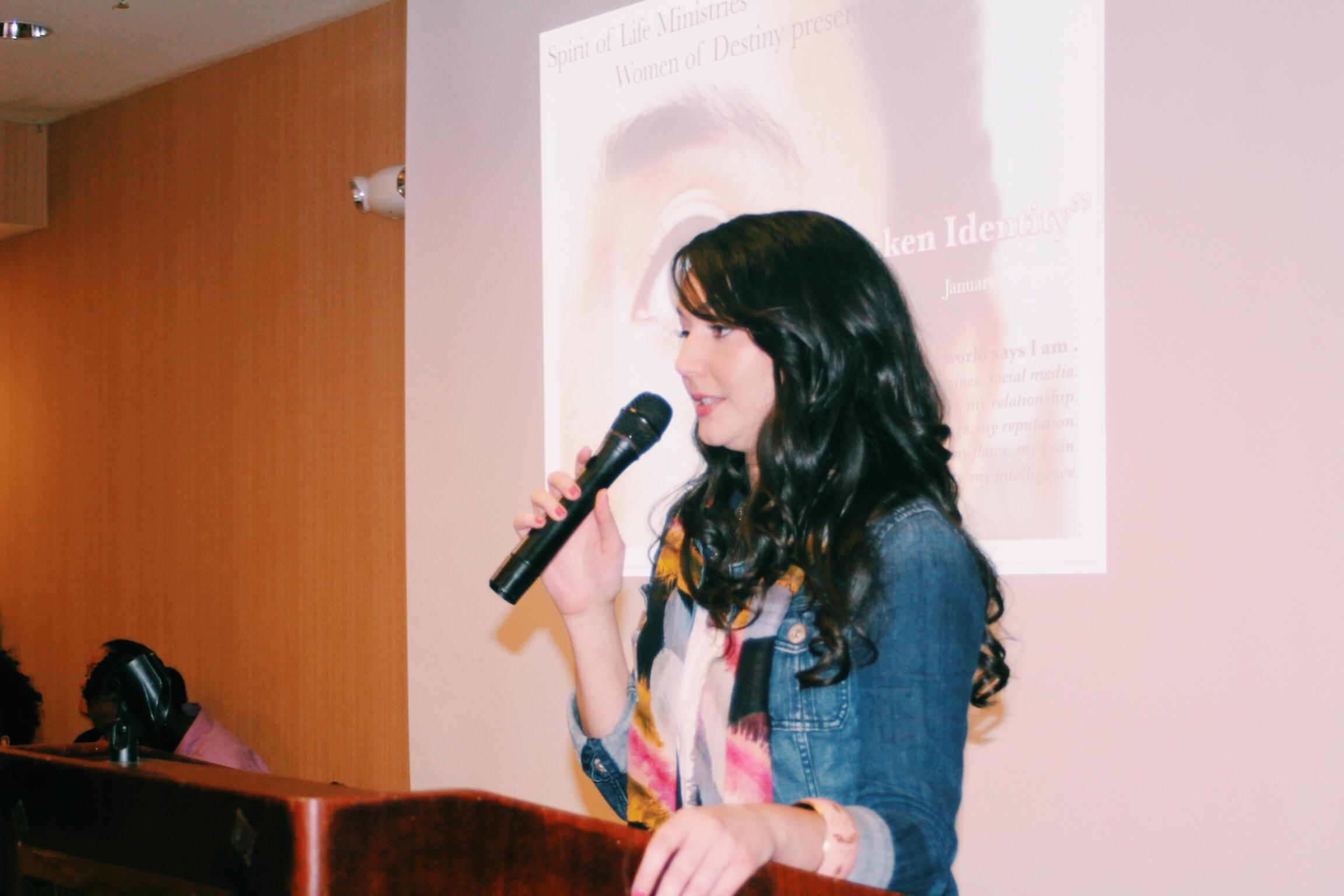 Women of Destiny Guest Speaker