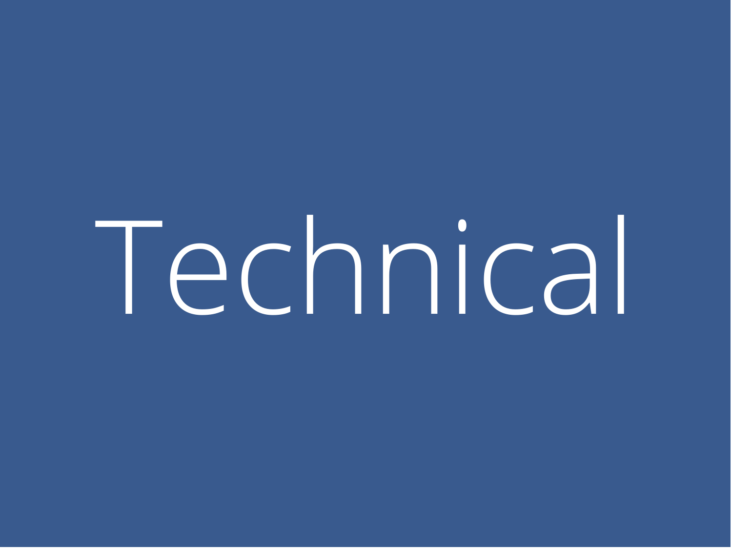 Learn about the WATS Technical Committee and meeting schedule