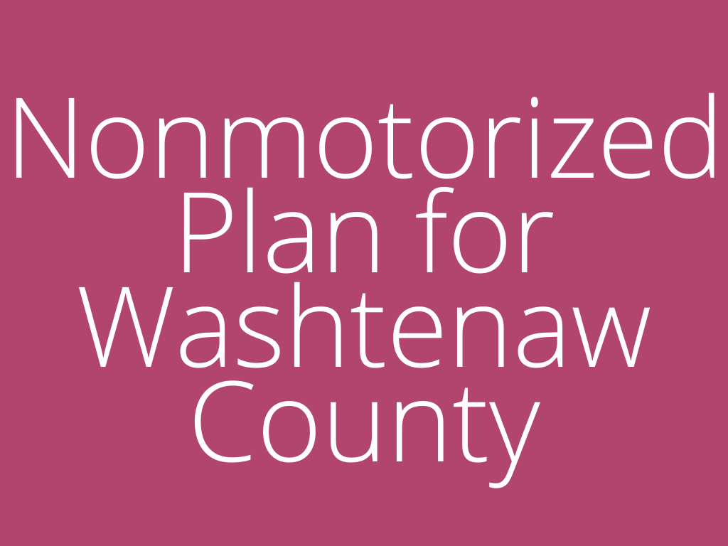 Link to the Nonmotorized Plan for Washtenaw County