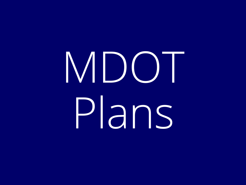 Link to list of MDOT Resources and Plans