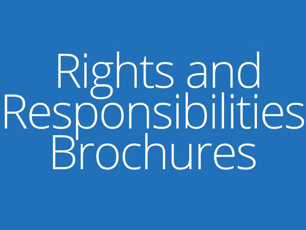 Links to WATS Rights and Responsibilities Brochures. Includes pedestrian, bicyclist, and motorist brochures.