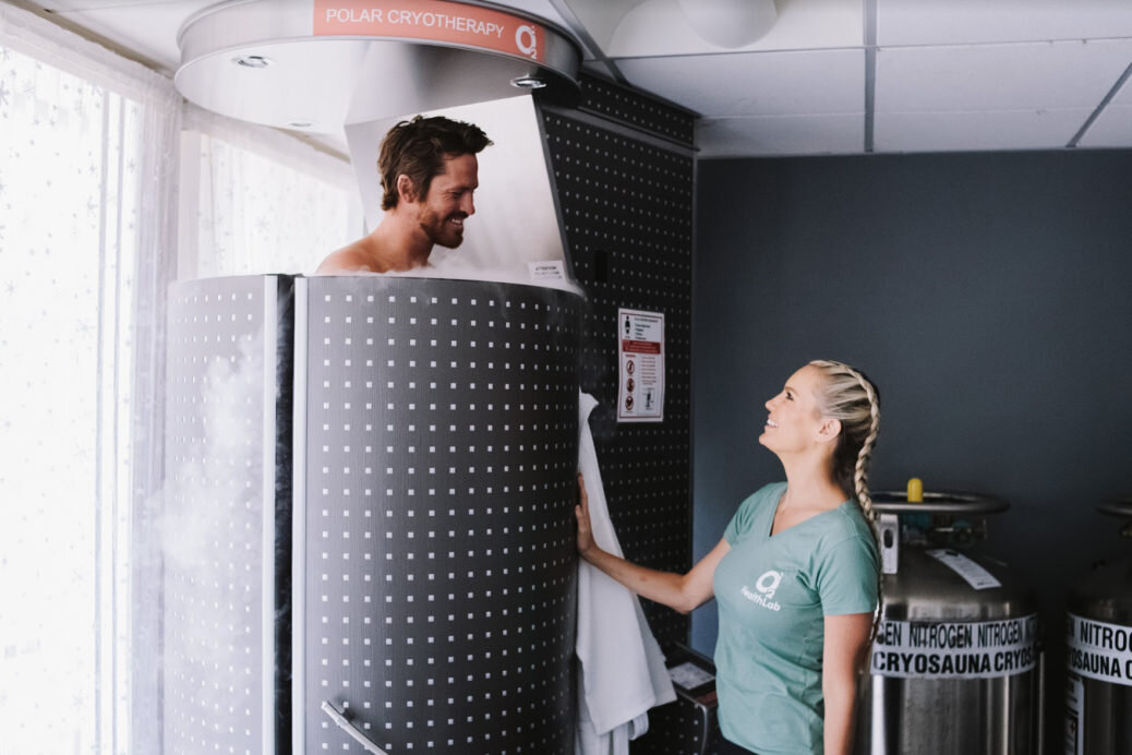 Cryotherapy - Cryotherapy is a powerful treatment for inflammatory disorders and injuries.Click here for more information