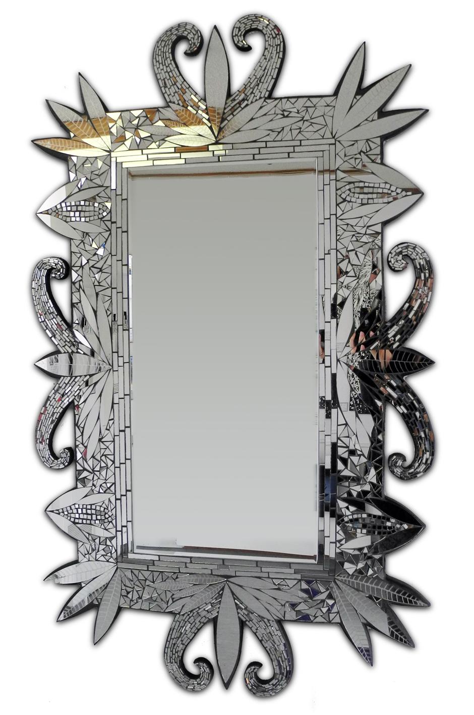 Exotic Garden - Mosaic Mirror - 700 X 1600mm - Jane Brimblecombe - $1150