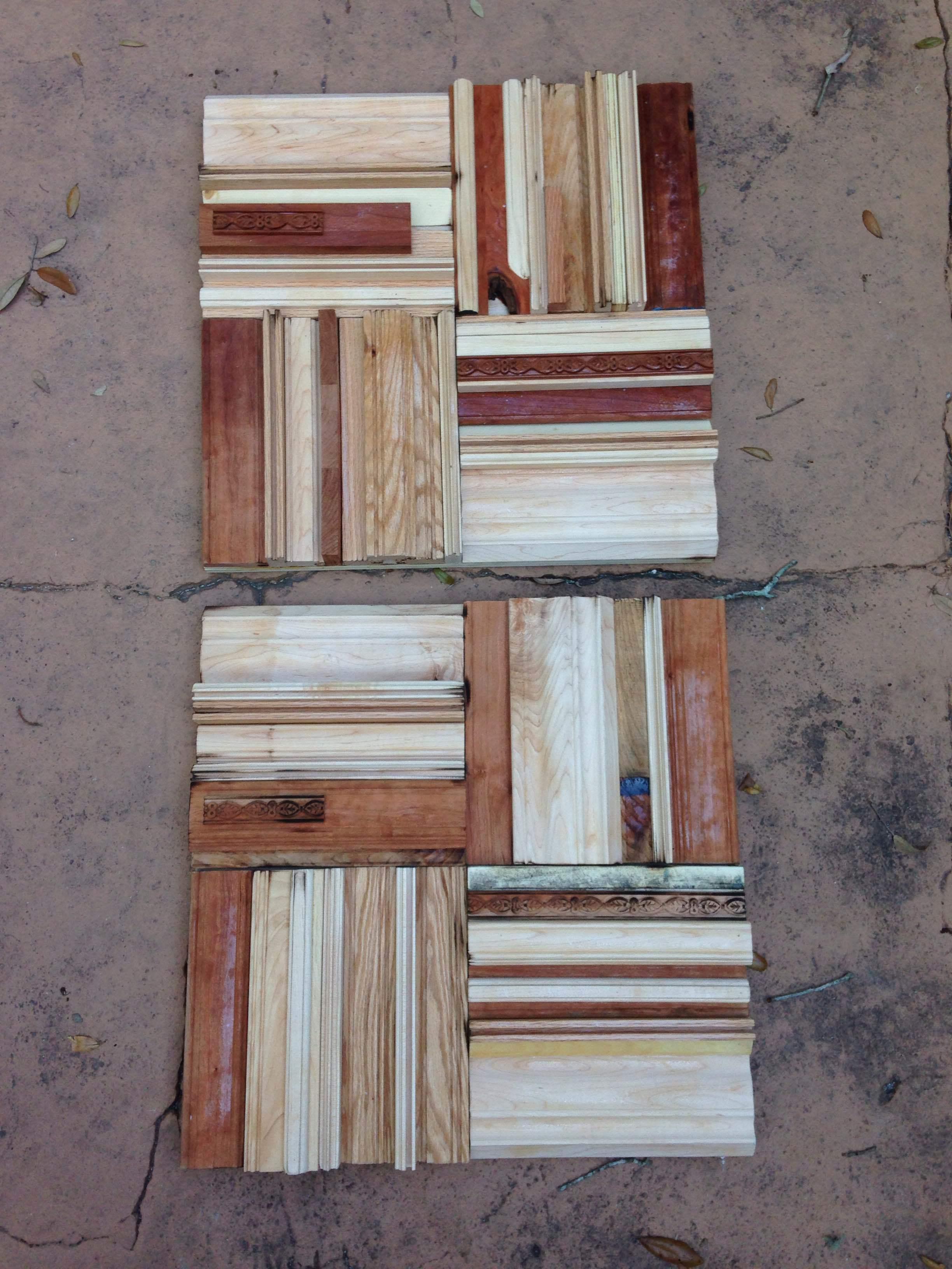 2 Custom 2'x2' panels