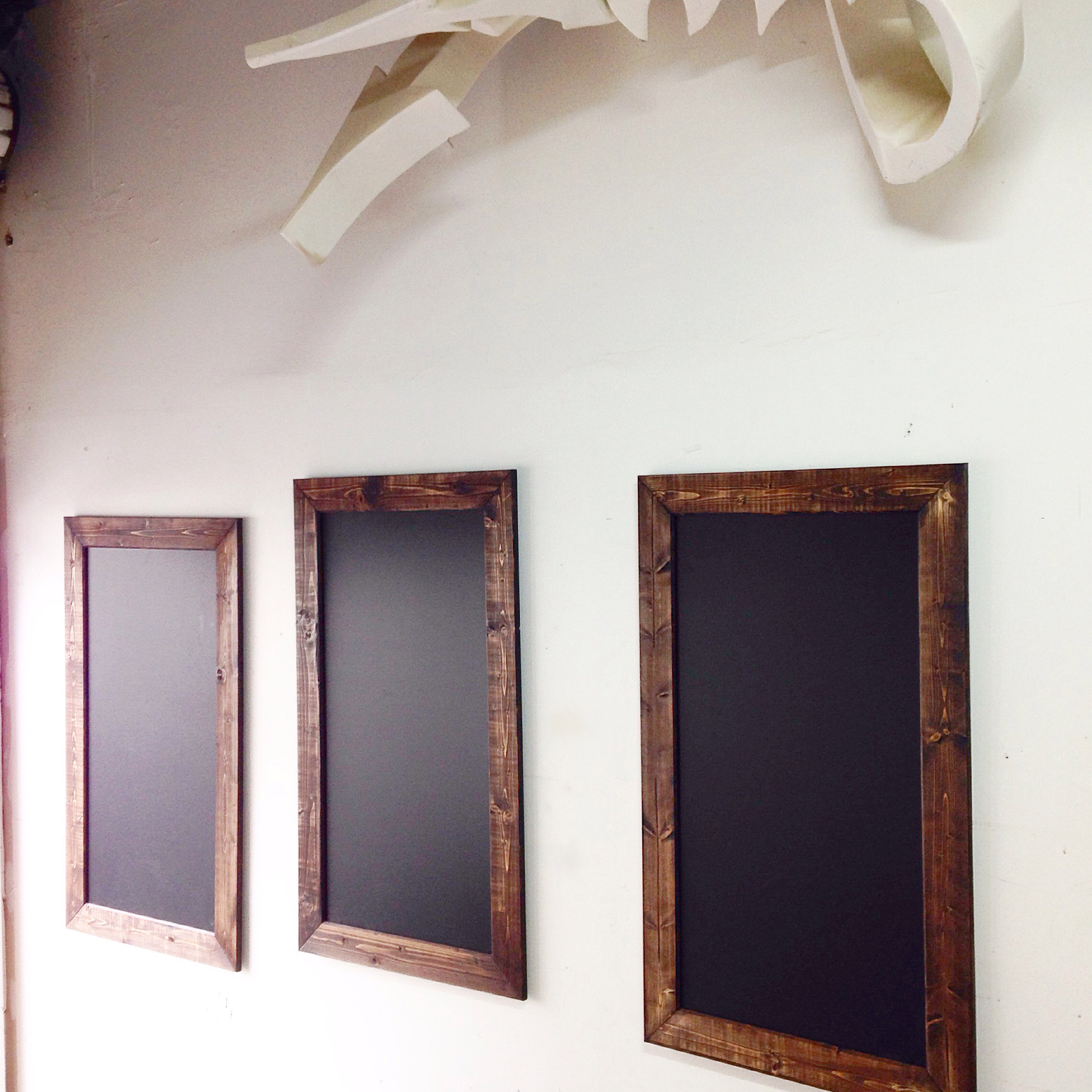 Custom Chalkboard Menu Boards by Diffuser City Custom Decor