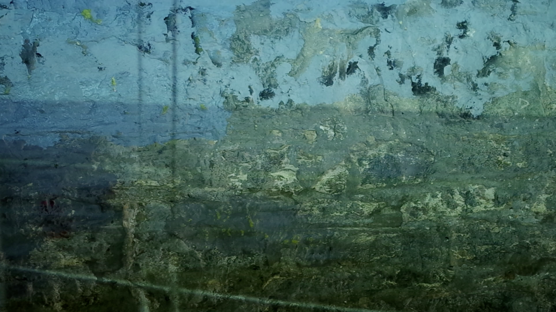 Sailing, video installation, 2014. Image by Sasha Amaya.