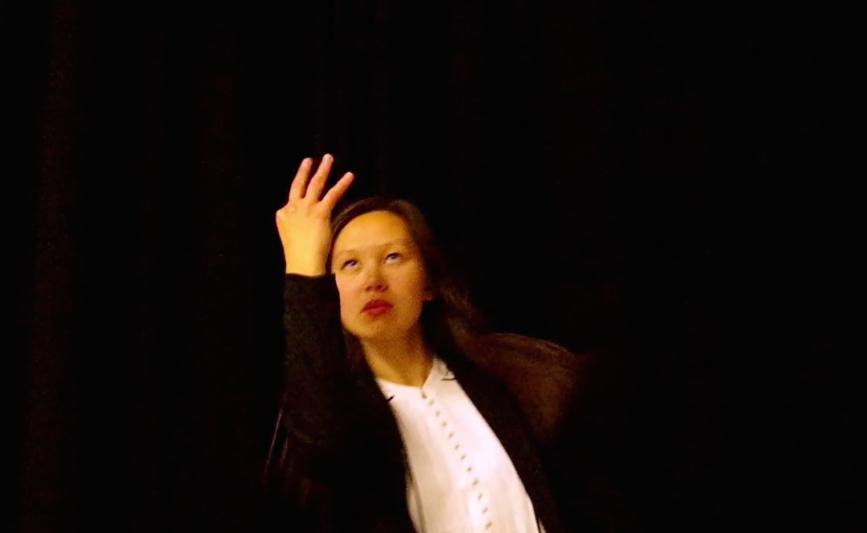 Take Three: Karelia Suite , single panel video still. Video, 2016. Image by Sasha Amaya.