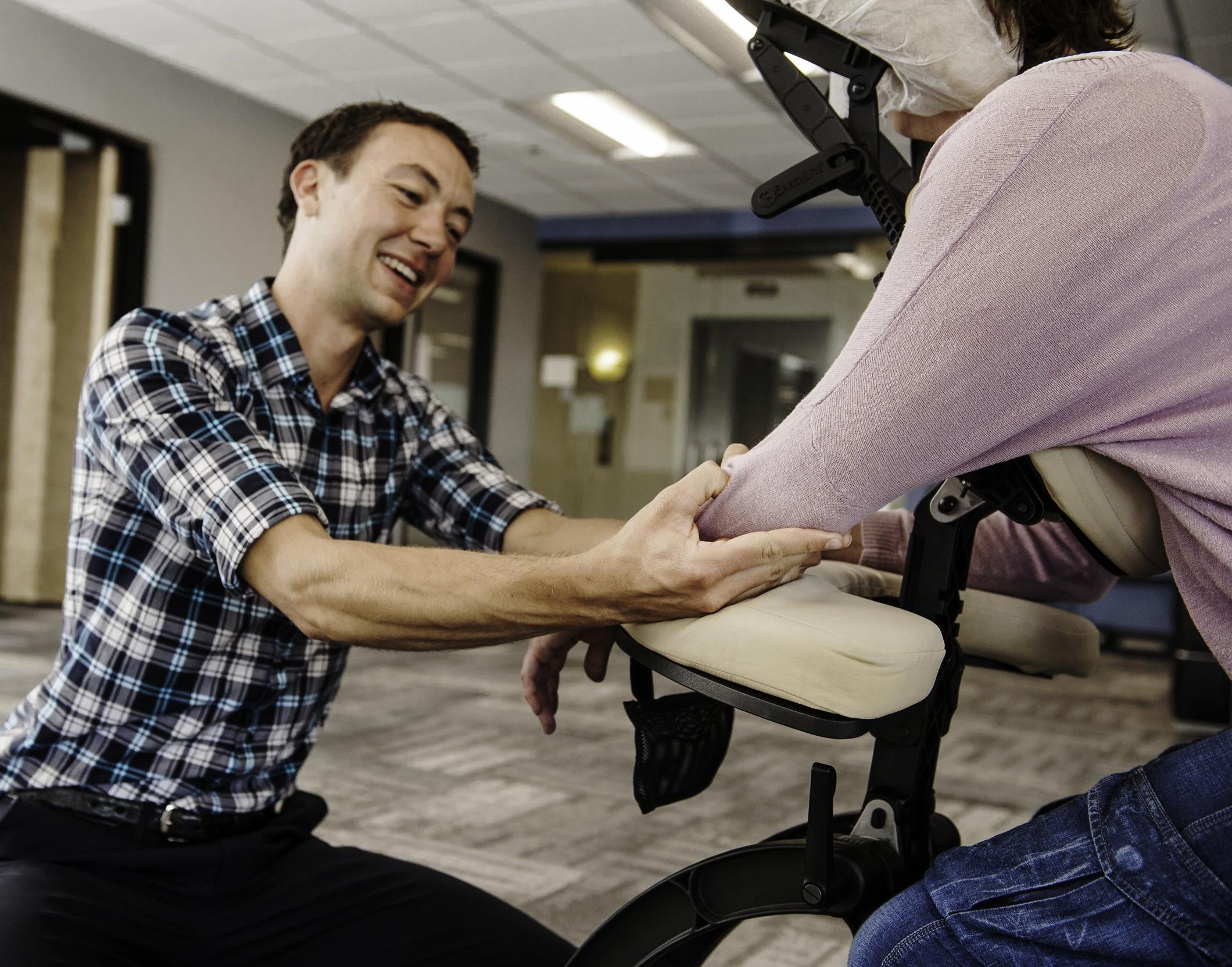 Chair Massage FAQ -
