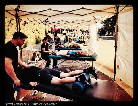 Portland Century Massage Tent