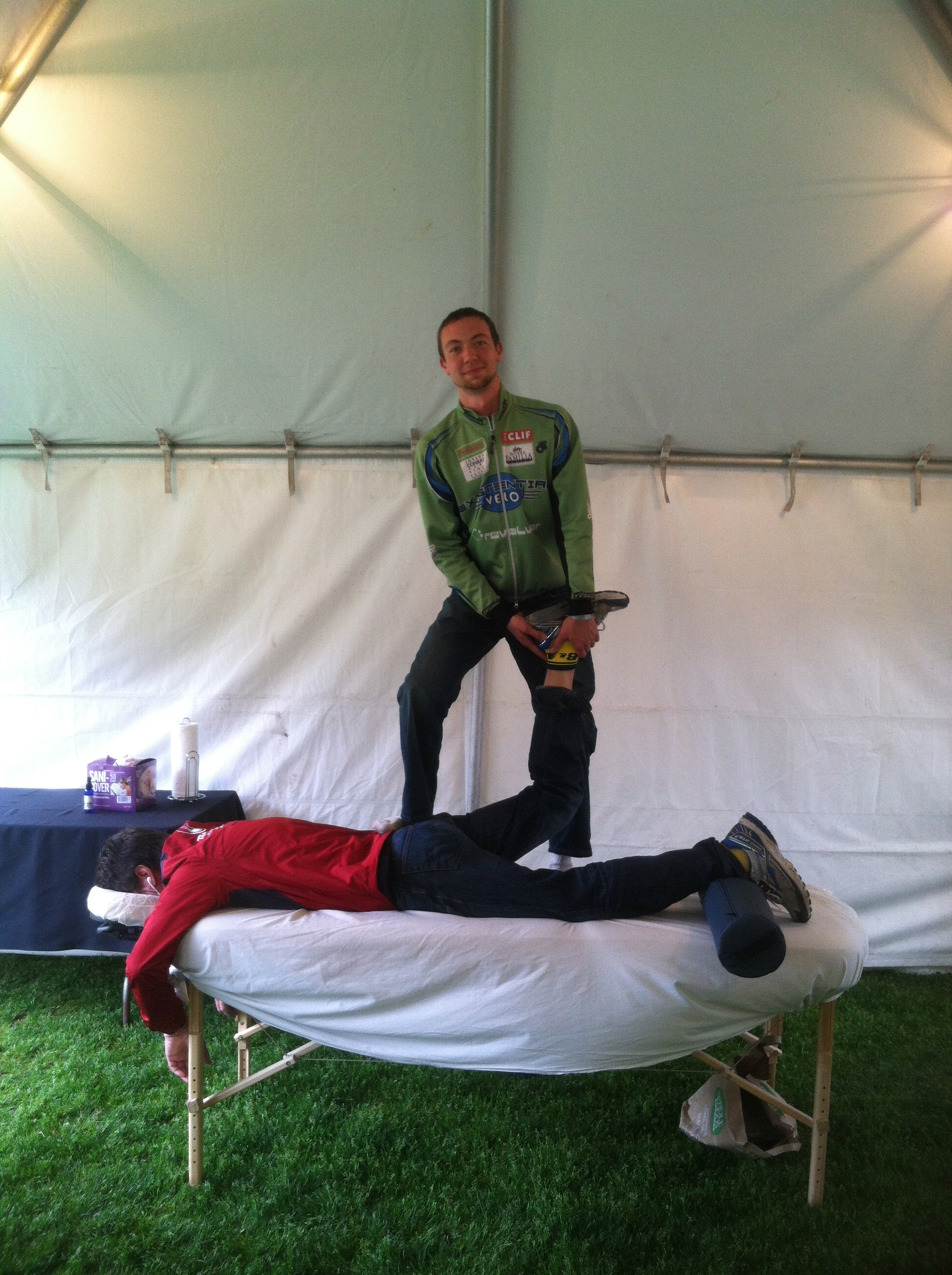 Portland Marathon Massage