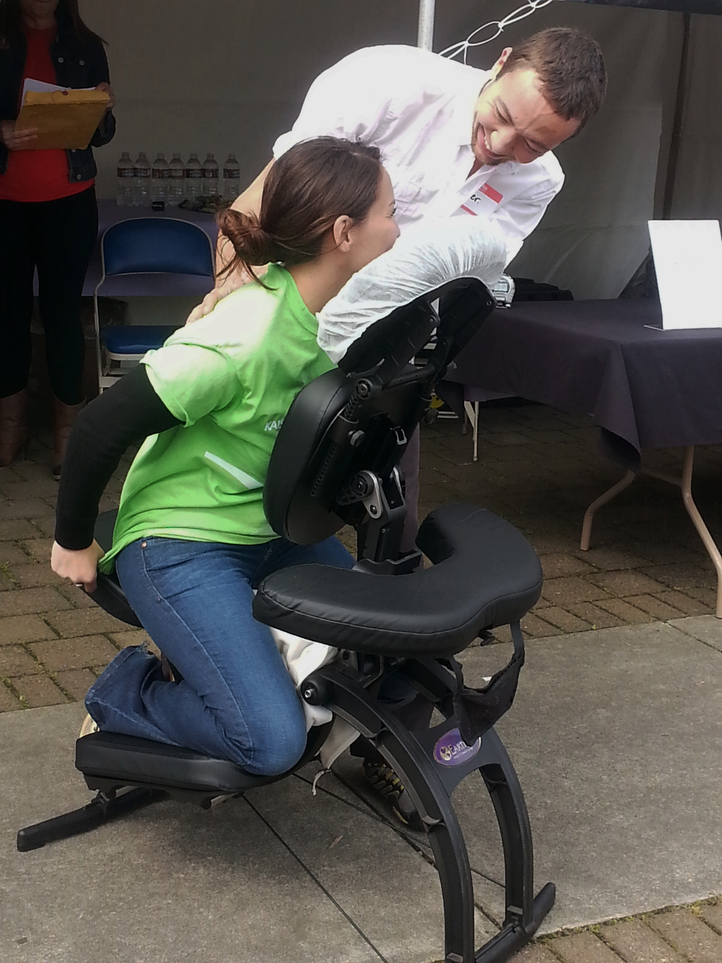 Schedule Massage in your event - Create a memorable experience, keep the energy up and make your event POP!
