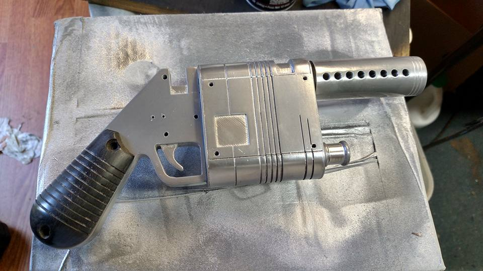 Rey's Blaster - work in progress
