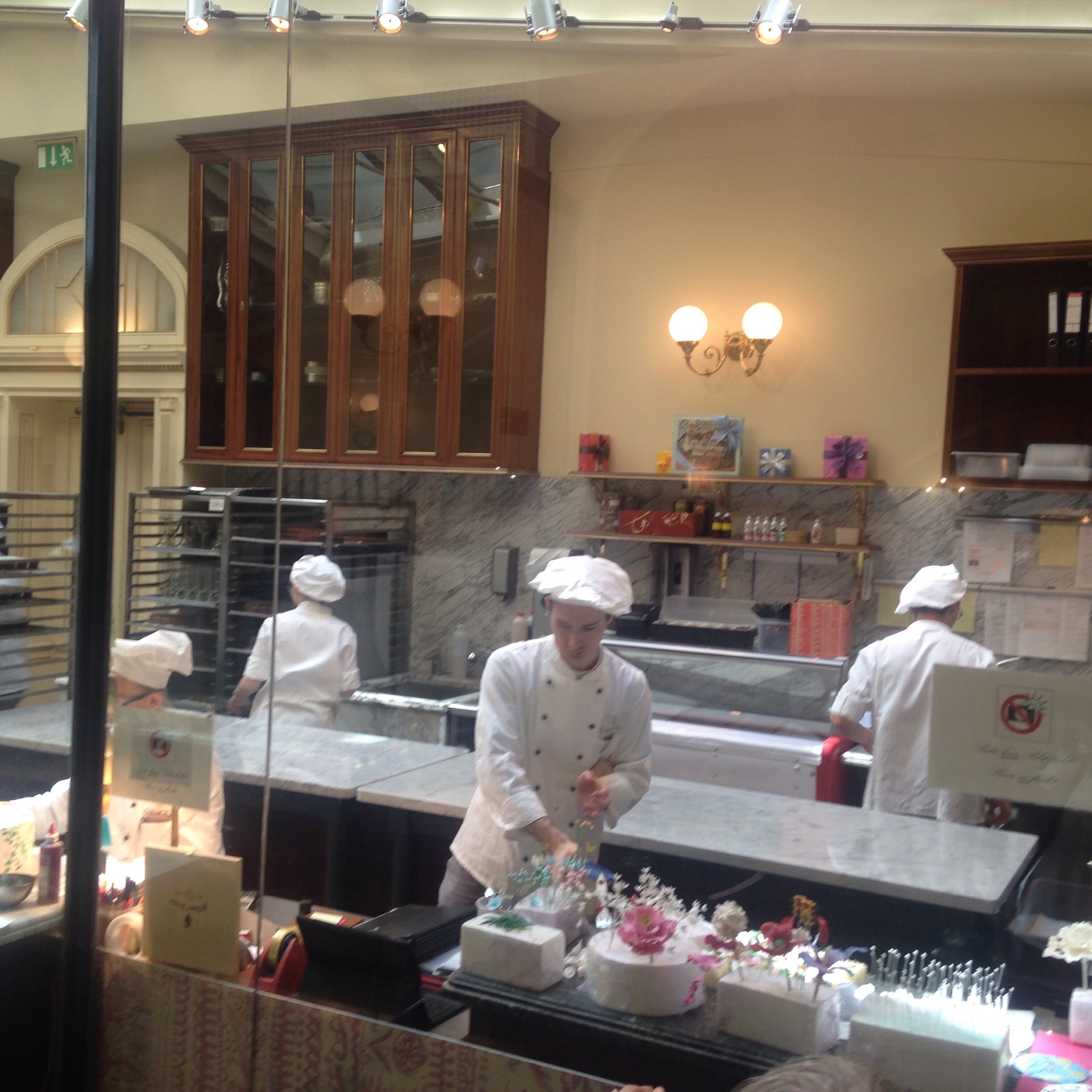 The bakers of the Demel pastry shop