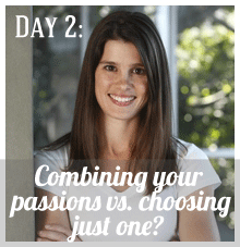 "Tuesday, 19th Nov      Megan   will be addressing the question:   'Should you combine many passions or just choose one?"" on  Megan Galloway Growth Coach .   Connect with Megan on Twitter  @meganjgalloway and on  Facebook ."