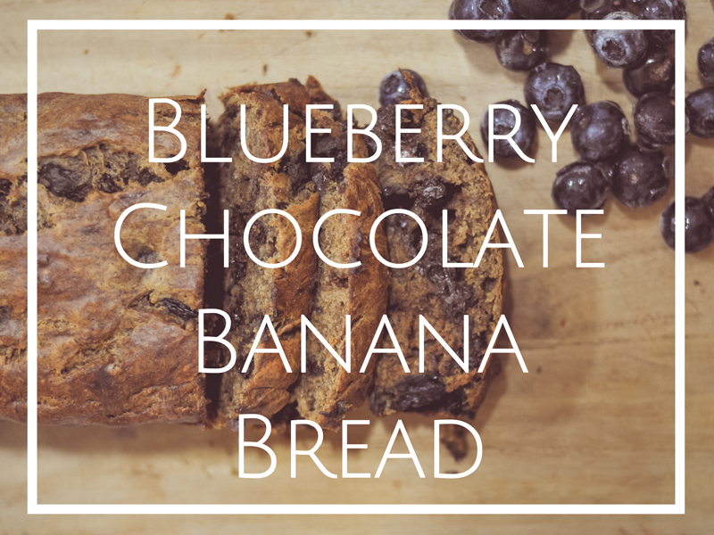 BlueberryChocolateBananaBreadRecipe