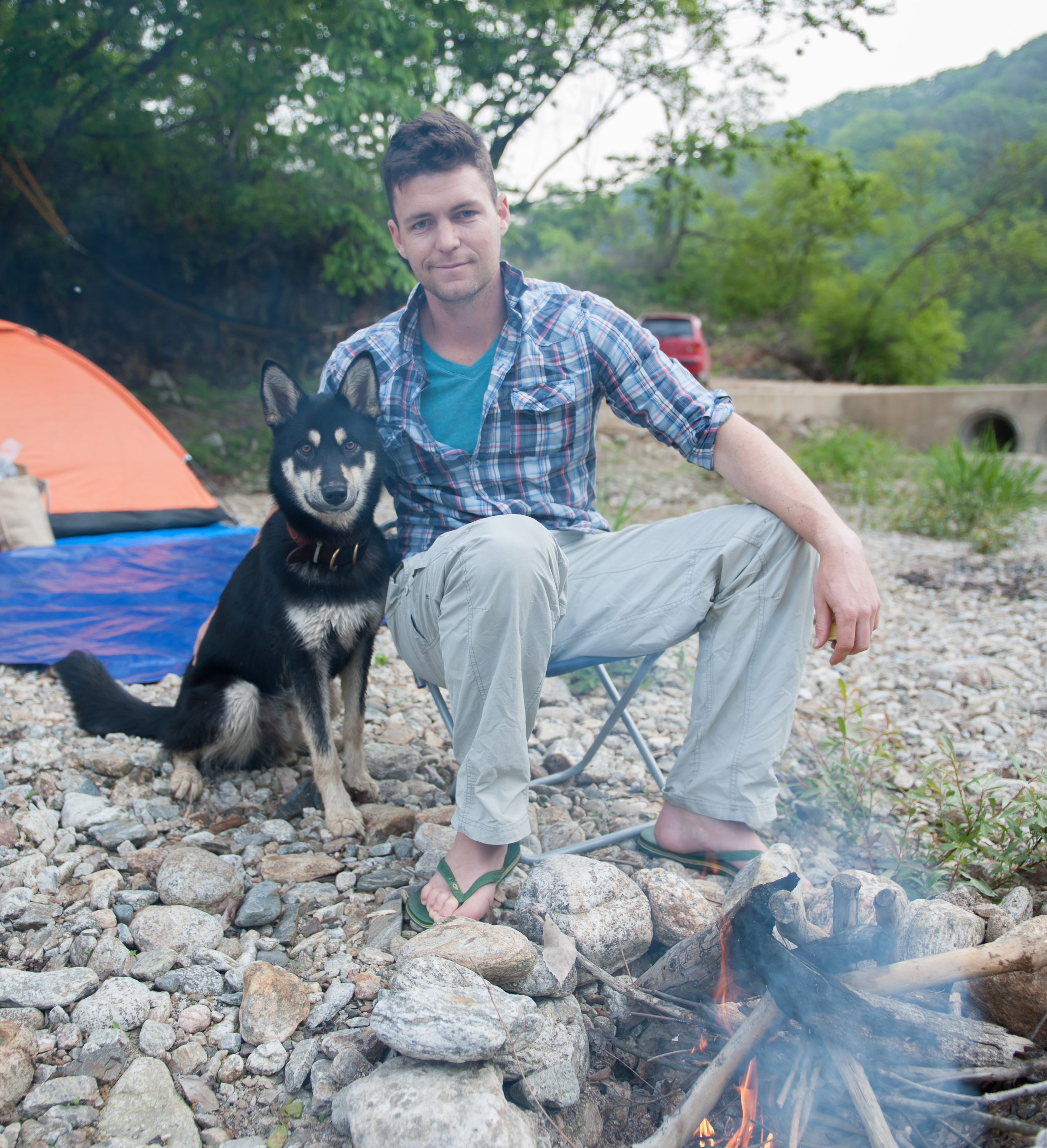 Camping in Gangwon... click here  to read more