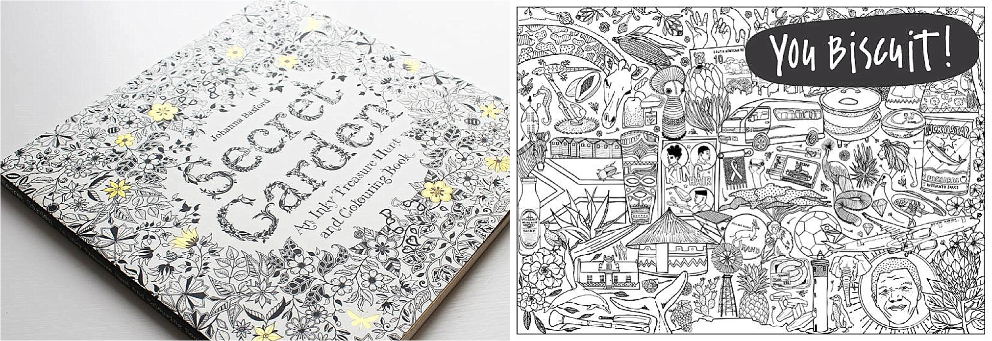 Adult coloring books posters you biscuit The Secret Garden