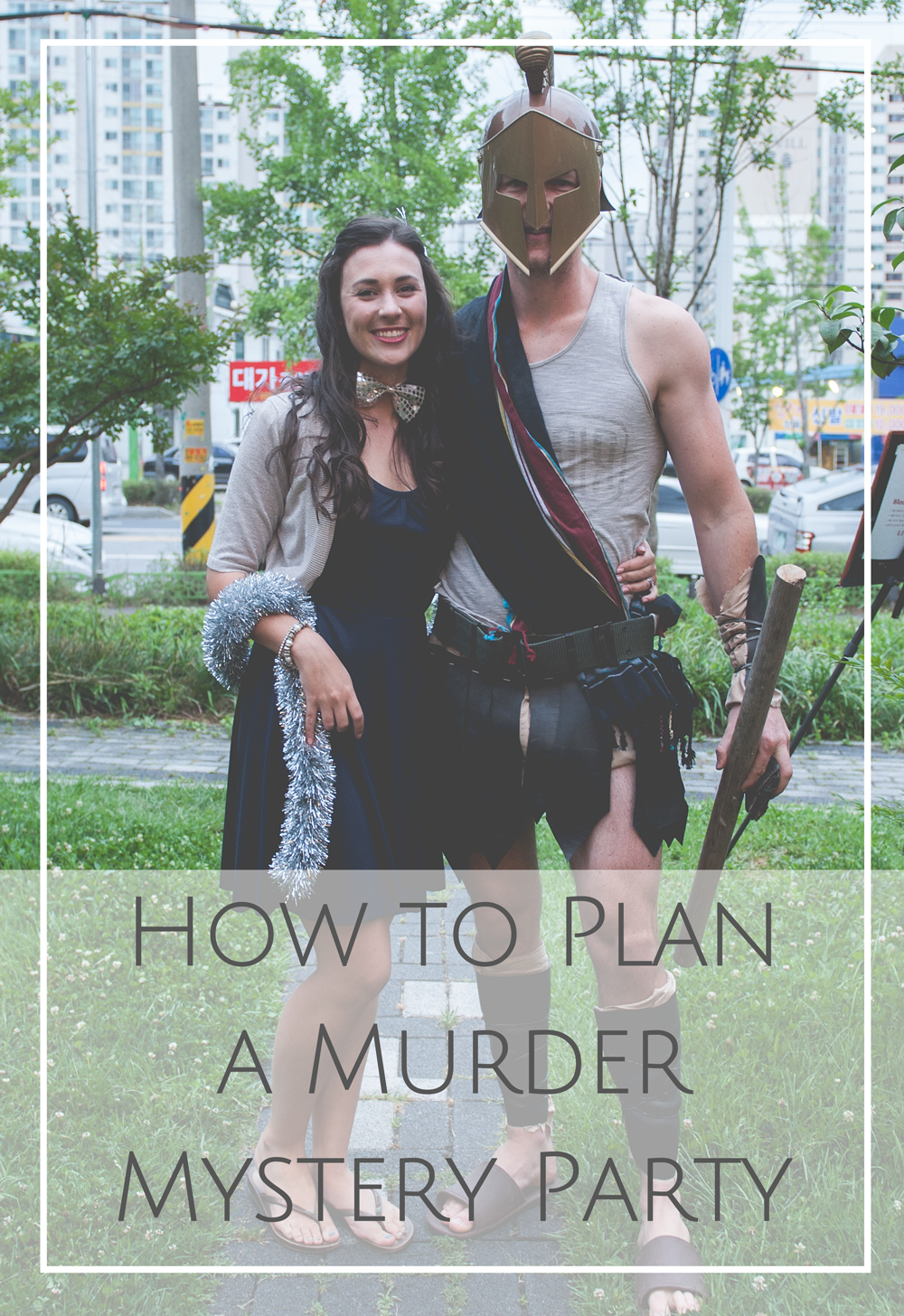 How to plan murder mystery party