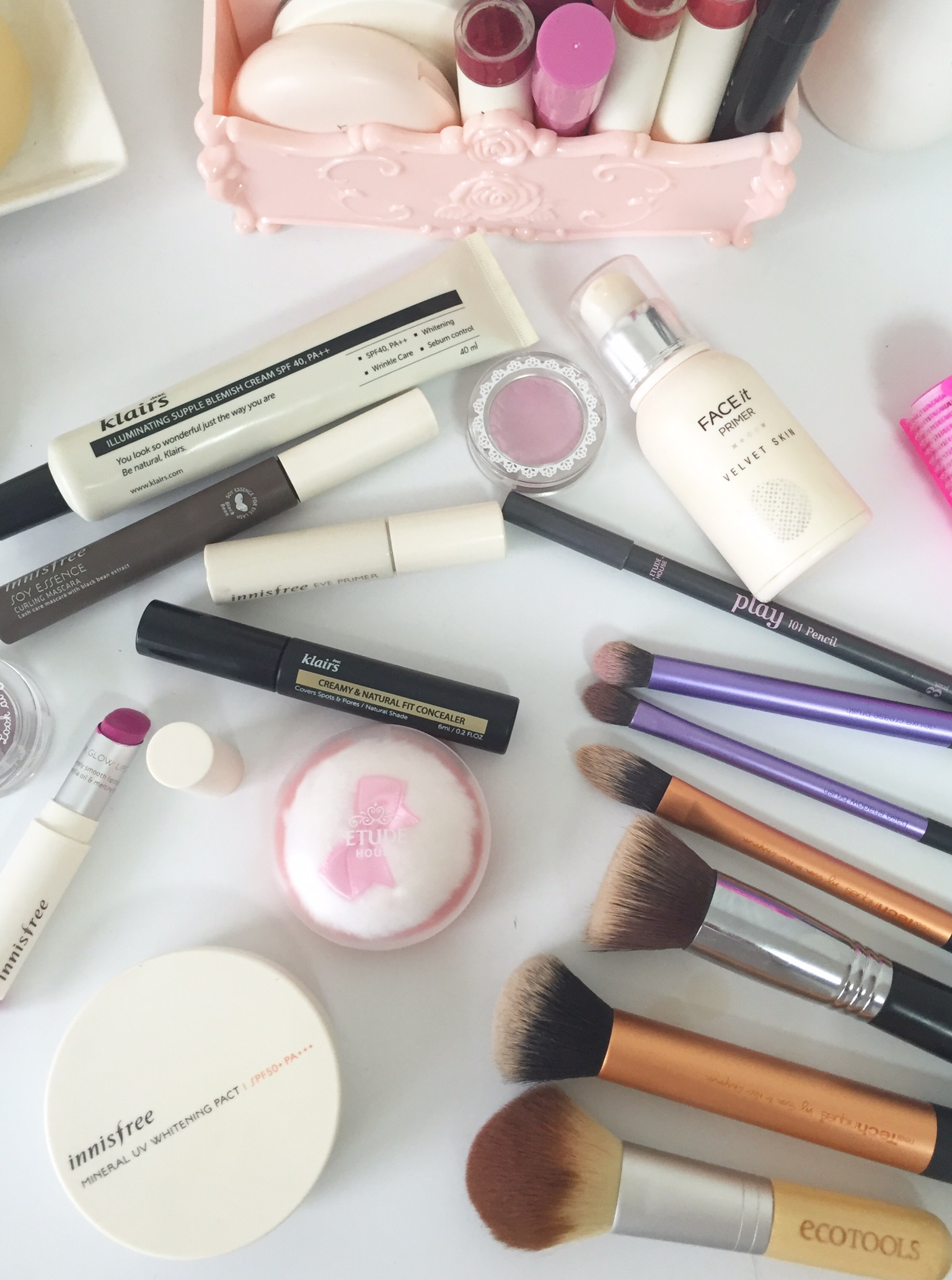 Korean Beauty Products Everyday makeup look