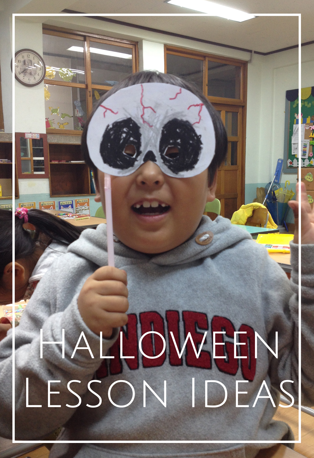Halloween lesson ideas for teaching english