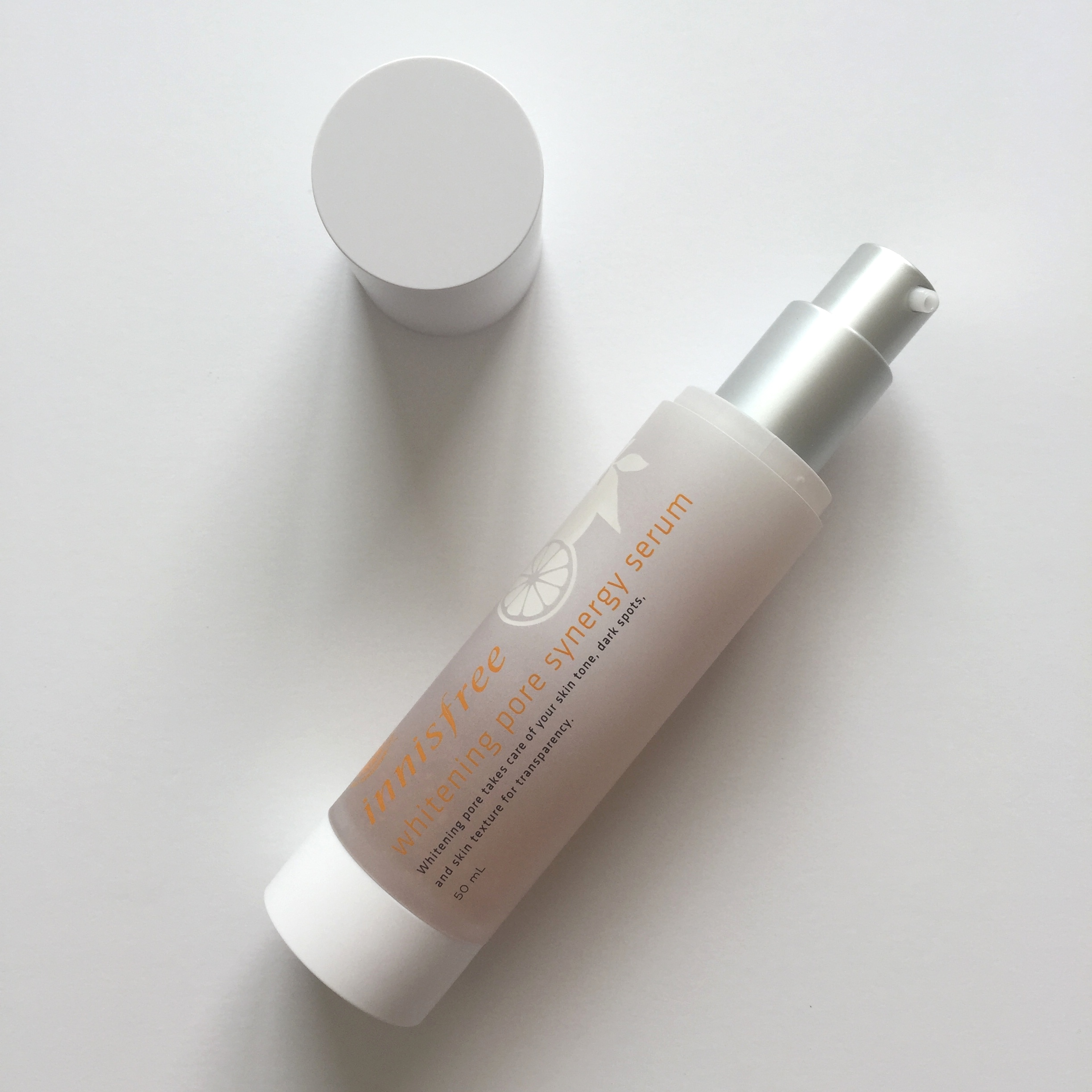 Innisfree Whitening Pore Synergy Serum Review