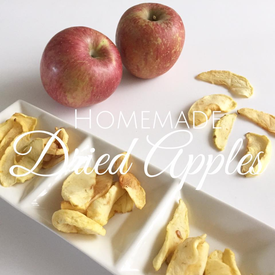 How to make dried apples