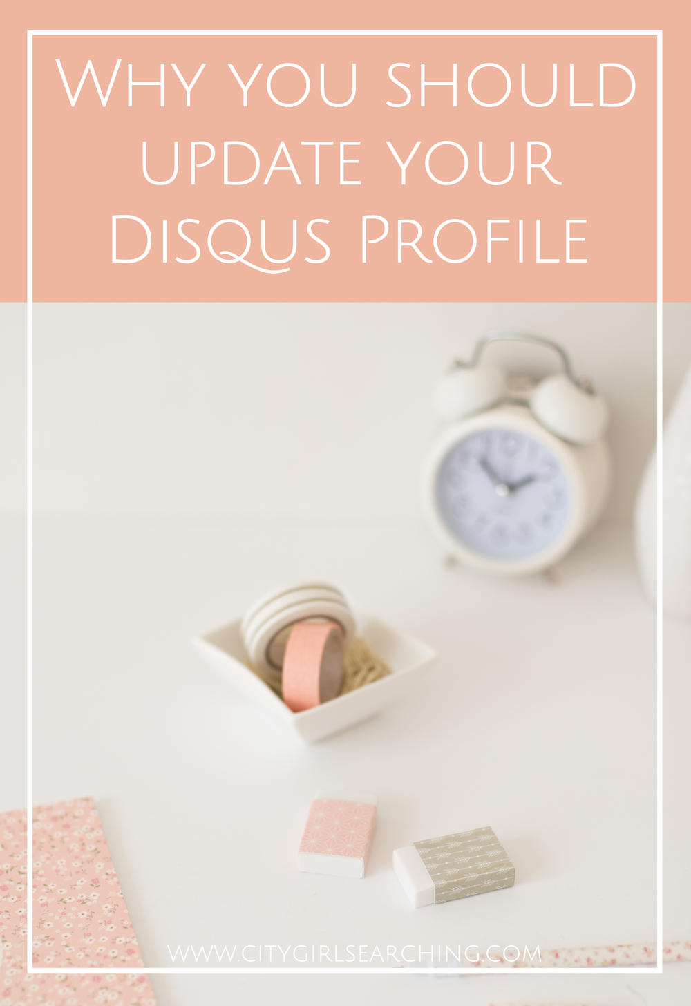 Help People Find and Connect with you on Disqus why you should update your disqus profile